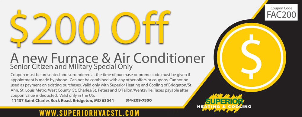 heating and cooling specials