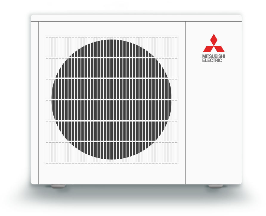 mitsubishi single zone heating and cooling