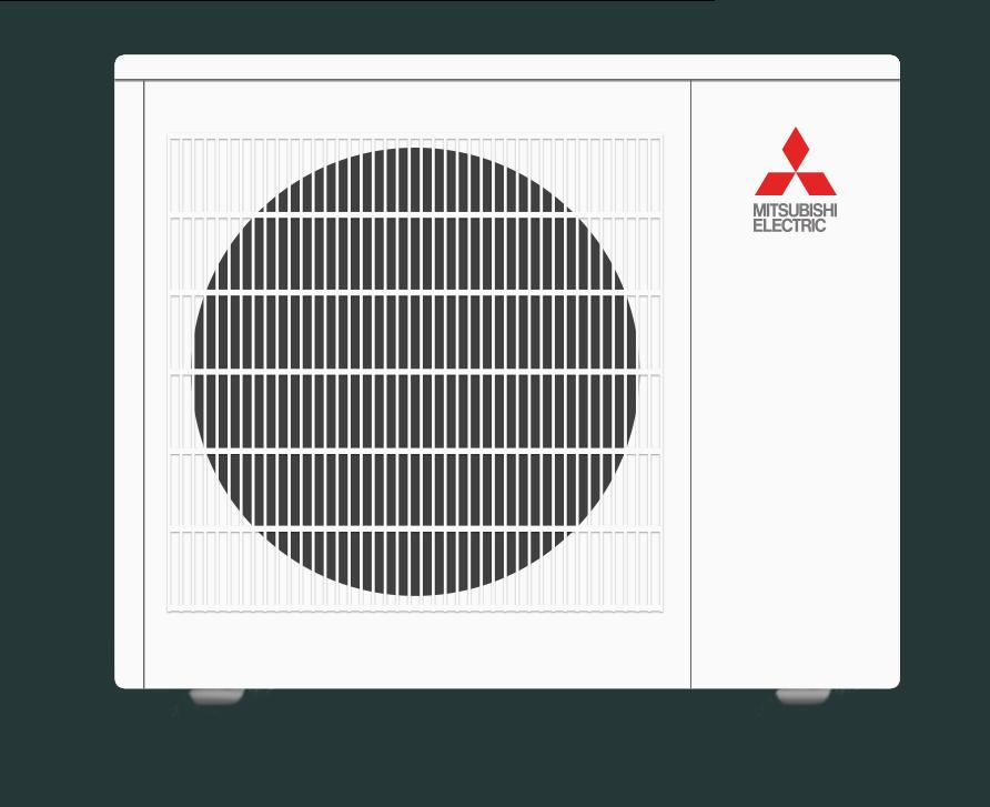 mitsubishi single zone heating and cooling