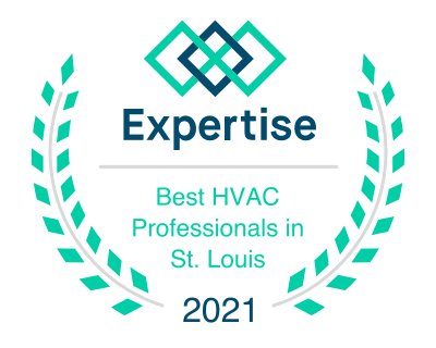 expertise best hvac companies in st louis 2021 logo